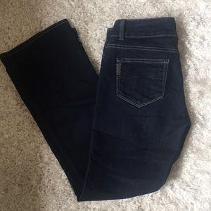Paige Bootcut Hidden Hills Dark Jeans